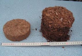 Kokosfaser-Pads